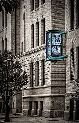 Photograph - Lowell High School by Phil Cardamone
