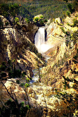 Photograph - Lower Falls 2 by Marty Koch