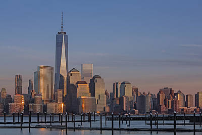 Photograph - Lower Manhattan Skyline by Susan Candelario