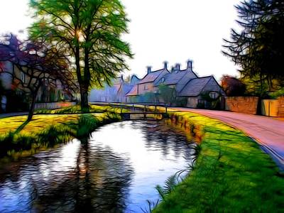 Photograph - Lower Slaughter 2 by Ron Harpham
