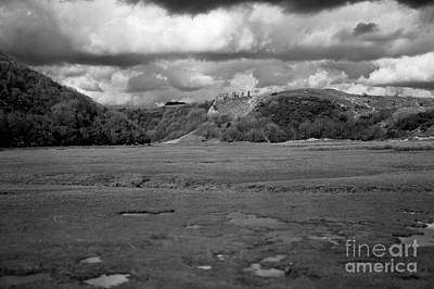 Photograph - Lowering Clouds Over Pennard Castle by Paul Cowan