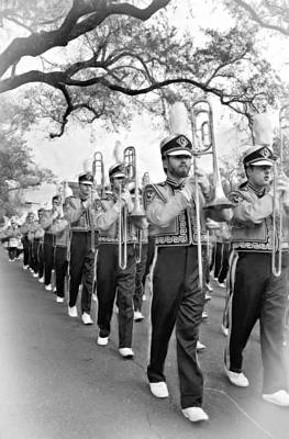 Louisiana State University Photograph - Lsu Marching Band Vignette by Steve Harrington