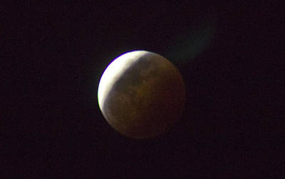 Photograph - Luna Eclipse by Debbie Cundy