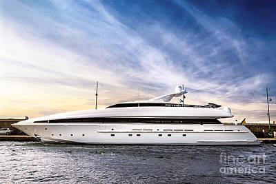 Photograph - Luxury Yacht by Elena Elisseeva