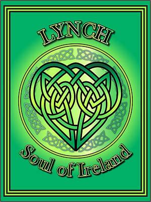Lynch Soul Of Ireland Art Print