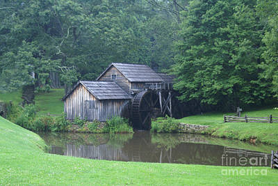 Photograph - Mabry Mill by Annlynn Ward