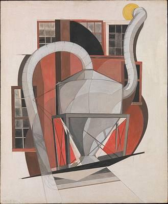 Machinery Art Print by Charles Demuth