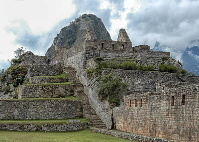Photograph - Machu Picchu - 2 by Alan Toepfer