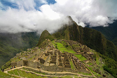 Peru Photograph - Machu Picchu, Cusco Region, Urubamba by Douglas Peebles