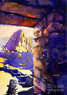 Inca Painting - Machu Picchu by Ryan Fox