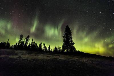 Lakeshore Drive Photograph - Mackenzie Point Aurora 2 by Jakub Sisak