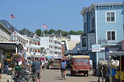 Photograph - Mackinac Island by Brett Geyer