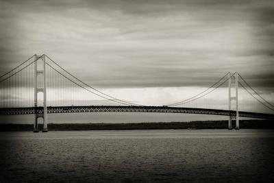 Photograph - Mackinaw Bridge by Scott Hovind
