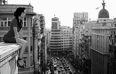 Vintage Shoes Photograph - Mad Madrid by Alejandro Marcos