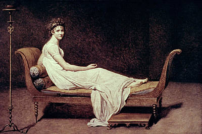 Chaise Longue Painting - Madame J by Granger