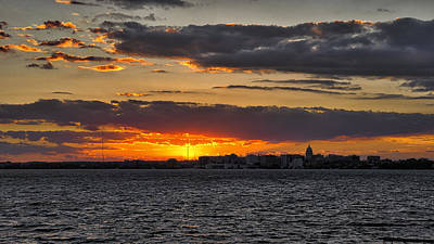 Sunset Photograph - Madison Sunset by Steven Ralser