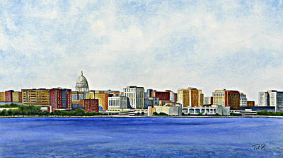 Painting - Madison by Thomas Kuchenbecker