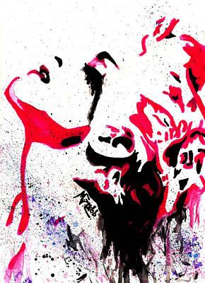 Virgin Mixed Media - Madonna by Michael Grubb