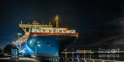 Photograph - Maersk Line by Jorgen Norgaard