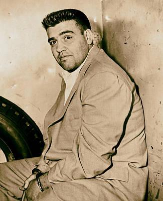 Mafioso Vincent Gigante 1956 Art Print