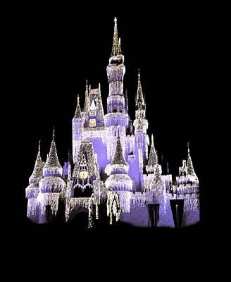 Crown Photograph - Magic Kingdom by Art Spectrum