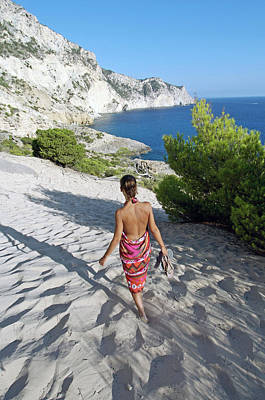 Magical Atlantis In Ibiza Art Print by Nano Calvo