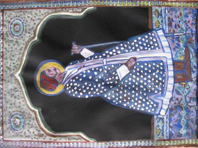 Art Print featuring the painting Maharaja Jai Singh by Vikram Singh