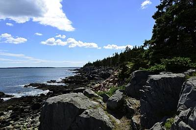 Photograph - Maine Coast by Kirk Stanley