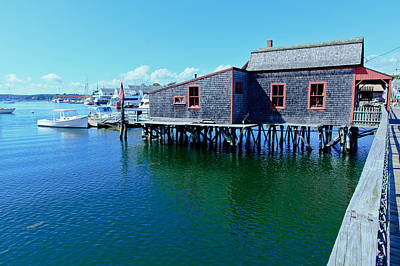 Photograph - Maine Harbor  by Ben Graham