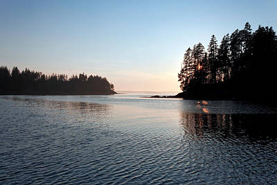 Maine Landscape Photograph - Maine Waterways by Susan  Degginger