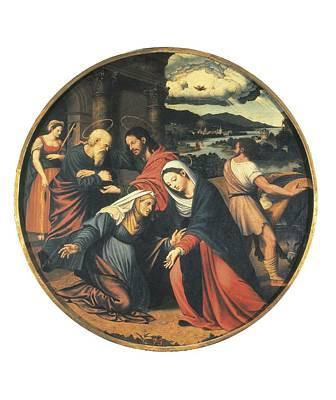 Ma�ip, Vicente 1480-1550. The Art Print by Everett