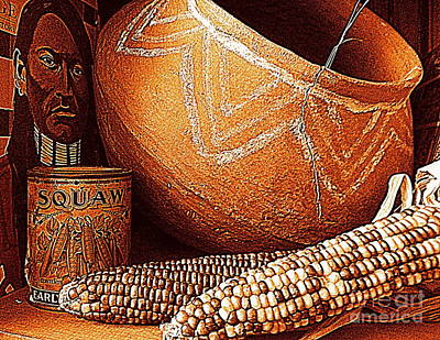 Photograph - New Orleans Maize The Indian Corn Still Life In Louisiana  by Michael Hoard