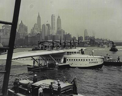 Majestic Giant Of The Air Art Print by Retro Images Archive