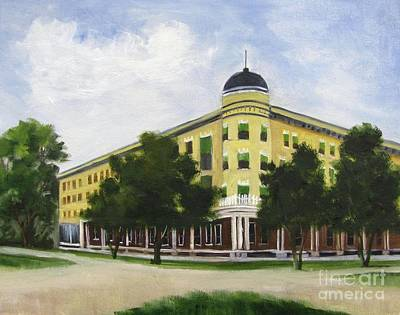 Painting - Majestic Hotel  by Barbara Haviland