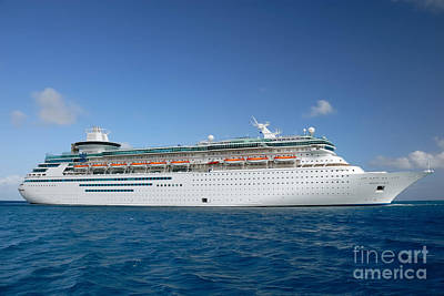 Ship Photograph - Majesty Of The Seas At Coco Cay by Amy Cicconi