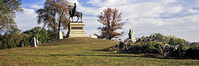 Gettysburg Photograph - Major General Winfield Scott Hancock by Panoramic Images