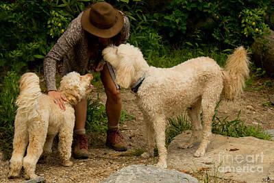 Photograph - Making Friends by Sandra Clark
