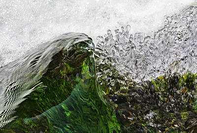 Photograph - Malachite Water by Robert Woodward