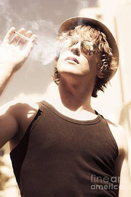 Youthful Photograph - Male Fashion Grunge by Jorgo Photography - Wall Art Gallery