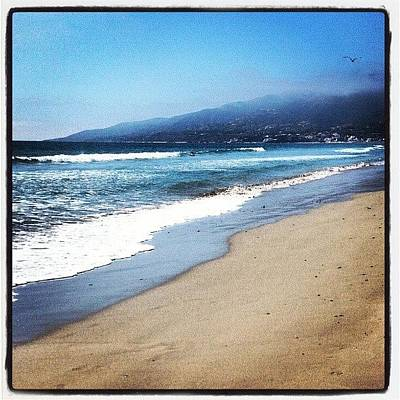 Beach Photograph - Malibu Beach by Aaron Kremer