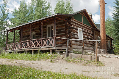 Photograph - Mamma Cabin At The Holzwarth Historic Site by Fred Stearns