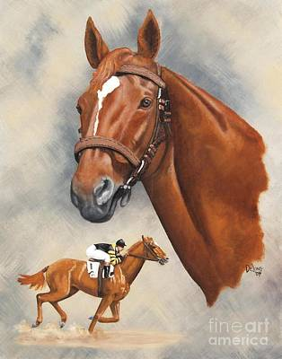 Man O'war Art Print