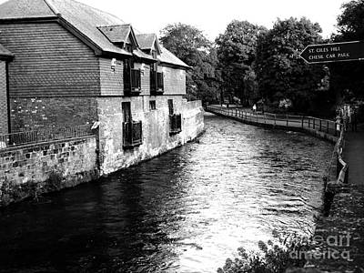 Photograph - Winchester Itchen River by Haleh Mahbod