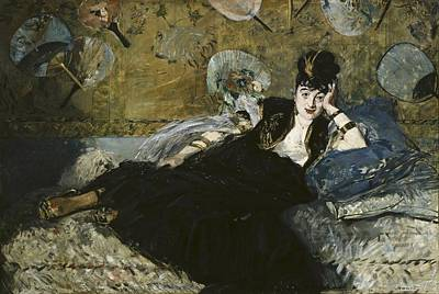 Manet, �douard 1832-1883. The Lady Art Print