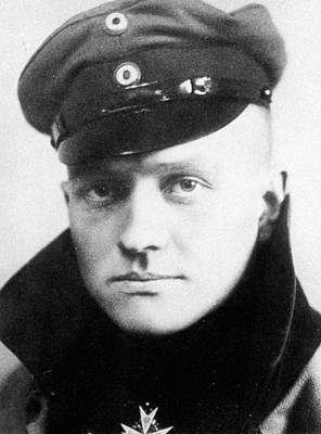Maltese Photograph - Manfred Von Richthofen (1892-1918) by Granger