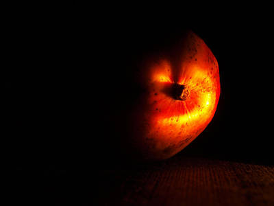 Realism Photograph - Mango After Dark by Tom Druin