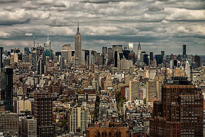 Photograph - Manhattan Skyline by James Howe
