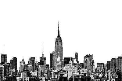 Manhattan Landscape Photograph - Manhattan Skyline by John Farnan