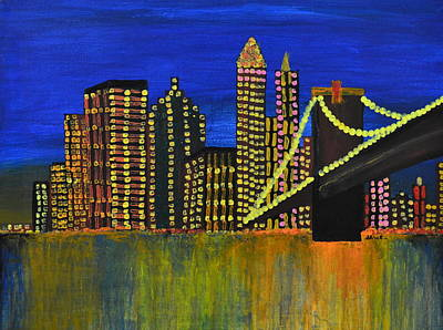 Painting - Manhattan Skyline by Shruti Prasad