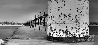 Manistee North Pierhead Lighthouse Art Print